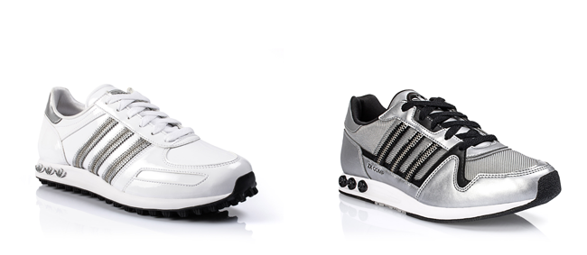 Trainer Scarpa Adidas Pelle Bianche Scarpa Pelle Trainer Adidas QreWodxECB